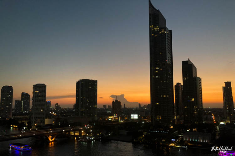 Bangkok Ultimate Travel Guide River Cruises View Shangri-La Sunset