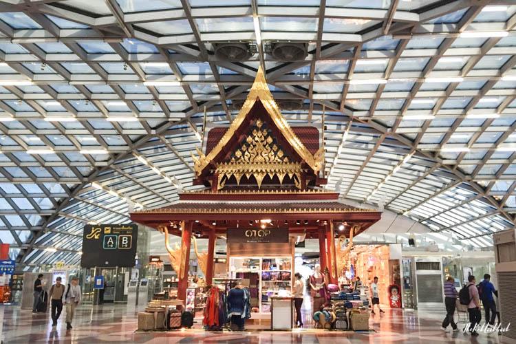 Airport Guide Bangkok Suvarnabhumi Airport BKK Main