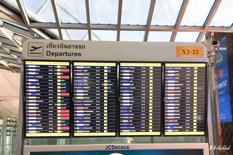 Airport Guide Bangkok Suvarnabhumi Airport BKK Schedule