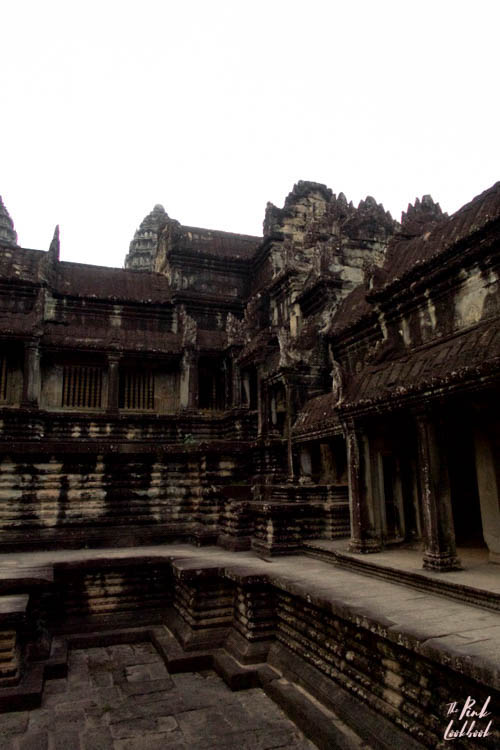 Angkor Wat Courtyard Inner View