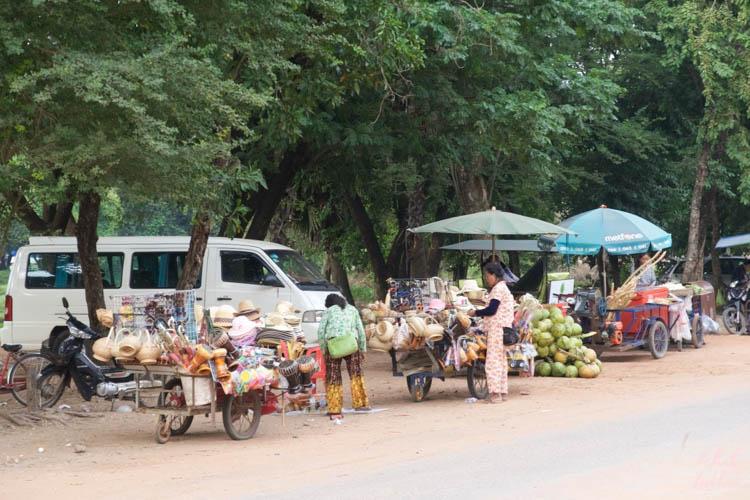 Angkor Wat Street Stalls