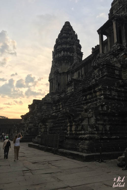 Angkor Wat Tower Sunrise Me