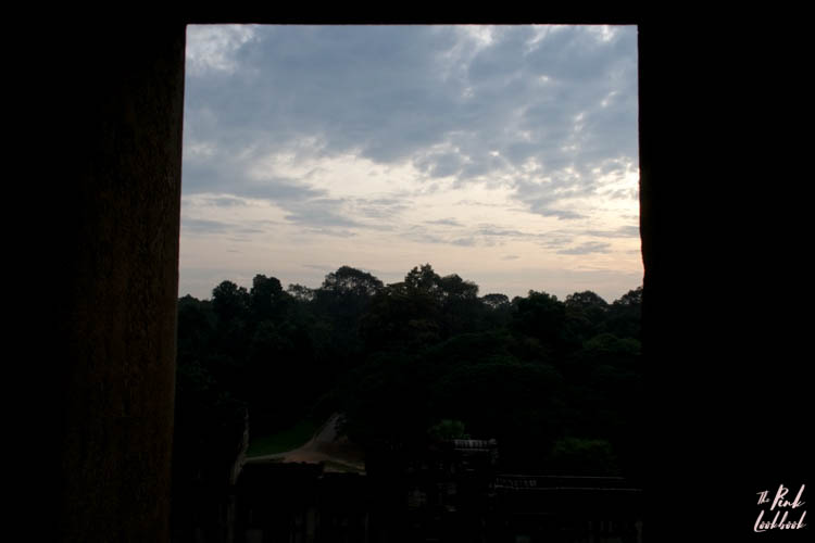 Angkor Wat Window View