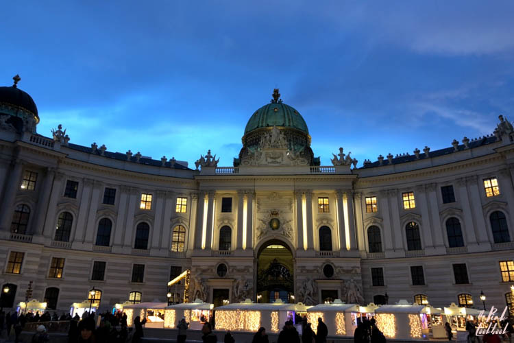 Winter Holiday Vienna Hofburg