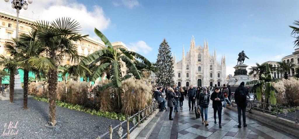 Christmas Milan Duomo Panorama