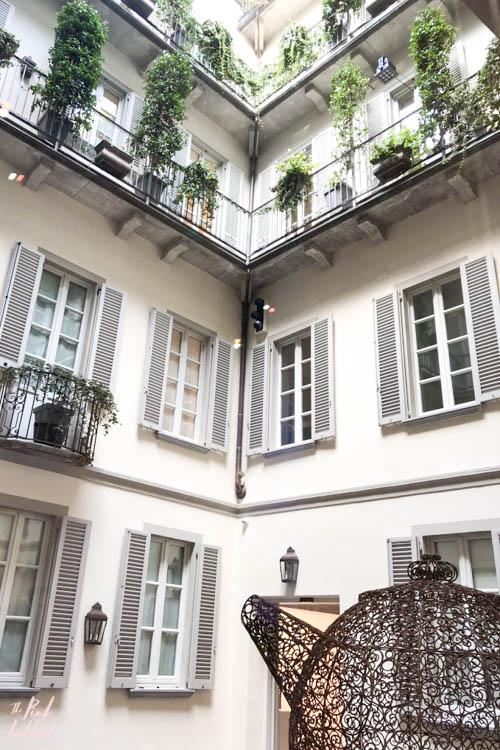 Milan Trip Balenciaga CourtyardMilan Trip Balenciaga Courtyard