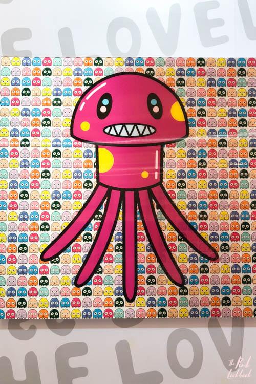 Artist Eddie Kang Loveless MCM Octopus