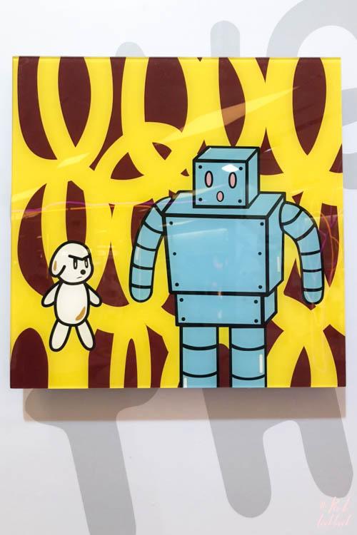Artist Eddie Kang Loveless MCM Robot
