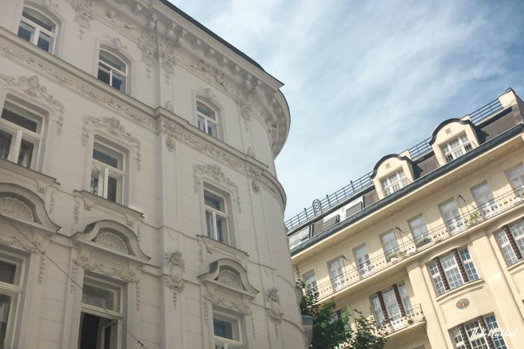 Vienna off the beaten tracks Neubau Two Buildings