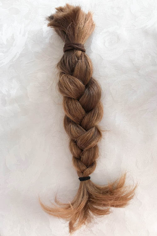 Monday Postcard Donate Hair Braided Plait