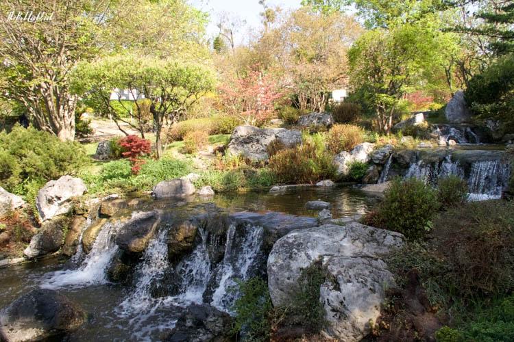 Setagaya Park Waterfall