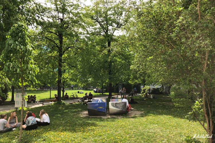Vienna Spring Altes AKH