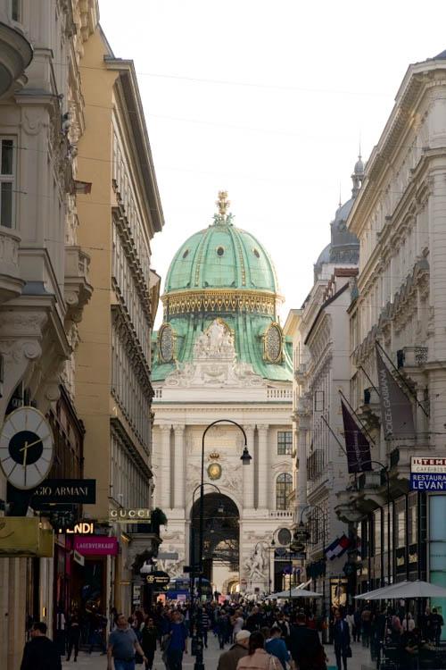 Vienna Spring Hofburg