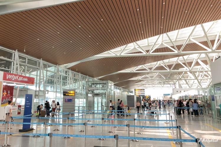 Da Nang International Airport DAD check in area