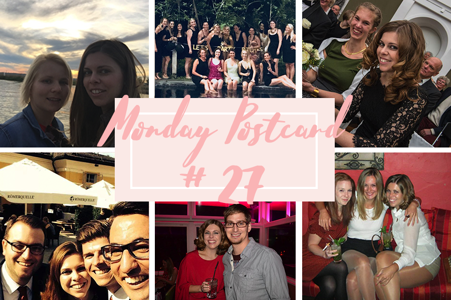 Monday Postcard 27 Investing in Friendships