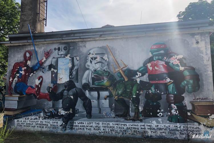 Street Art Zagreb Comics