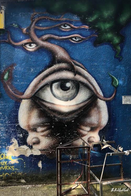 Street Art Zagreb Eye