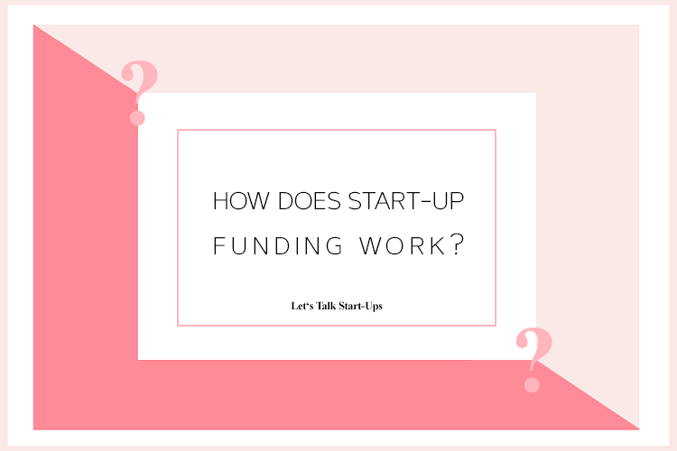 How Does Startup Funding Work Title