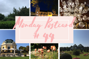 Monday Postcard 44 When Autumn Knocks at Your Door