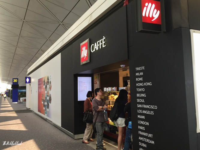 Hong Kong International Airport HKG Guide Coffee