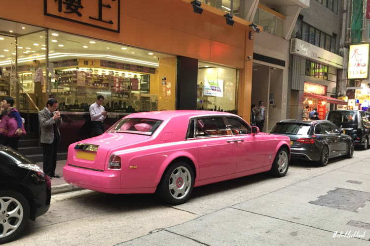 My Favourite Hong Kong Pictures Pink Limousine