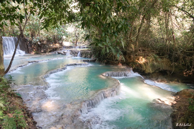 Luang Prabang Kuang Si Waterfall Bear Reserve Second Pool