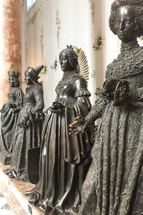 Innsbruck Ultimate Travel Guide Hofkirche Figurines Cenotaph Maximilian