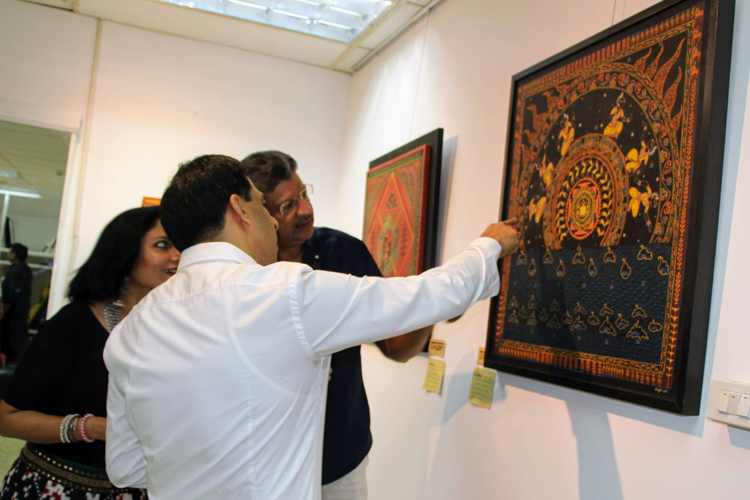 A Modern Interpretation of Traditional Indian Art Interview with Artist Neerja Tata Artist Discusses Works