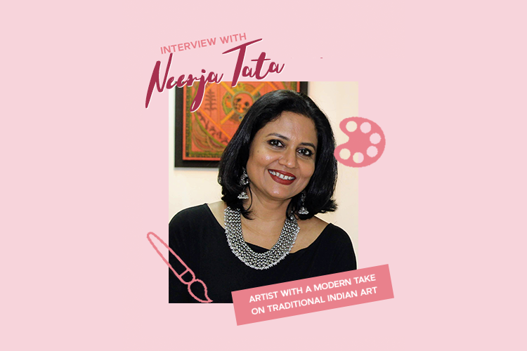 A Modern Interpretation of Traditional Indian Art Interview with Artist Neerja Tata