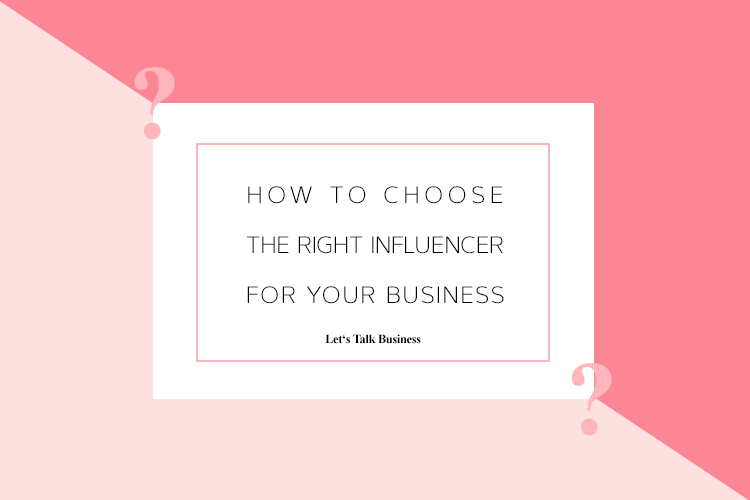 How to Choose the Right Type of Influencer for Your Business Title