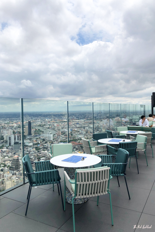 Personal Review of Bangkok's Highest Glass Skywalk Is King Power Mahanakhon Worth Visiting Restaurant