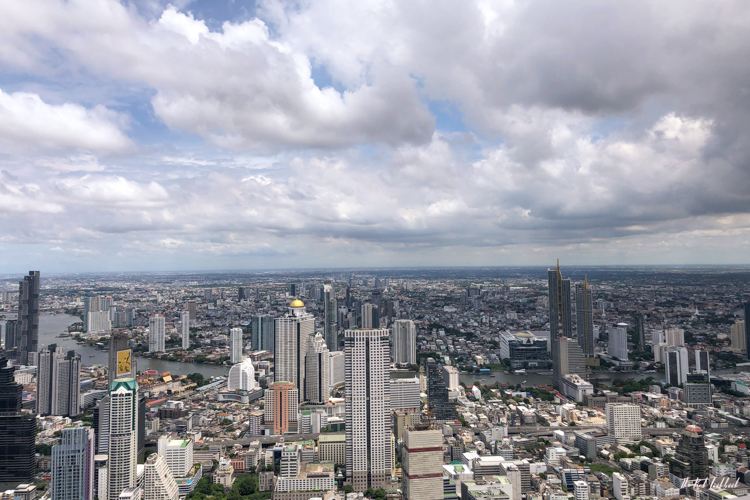 Personal Review of Bangkok's Highest Glass Skywalk Is King Power Mahanakhon Worth Visiting River View