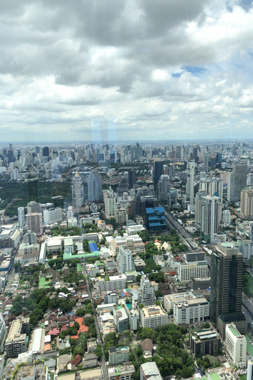 Personal Review of Bangkok's Highest Glass Skywalk Is King Power Mahanakhon Worth Visiting View 74th Floor