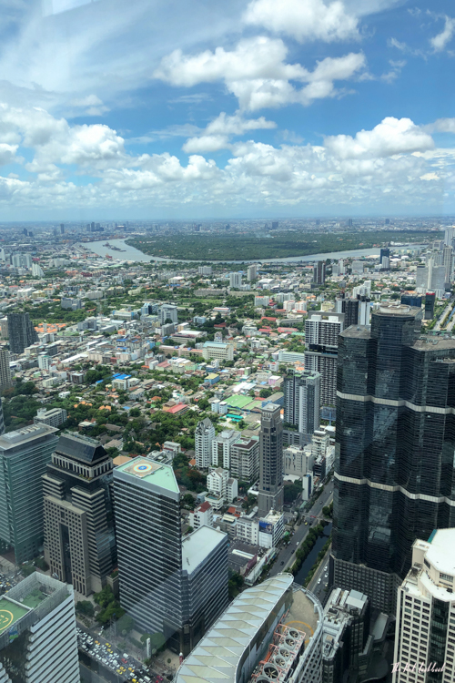 Personal Review of Bangkok's Highest Glass Skywalk Is King Power Mahanakhon Worth Visiting View Northwest