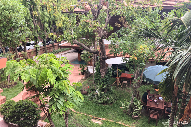 Personal Hotel Review Phor Liang Meun Terracotta Arts Hotel Chiang Mai Balcony View