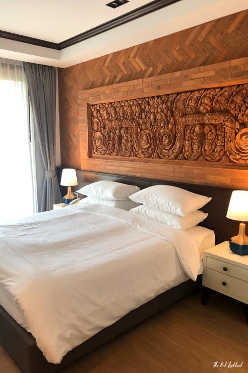 Personal Hotel Review Phor Liang Meun Terracotta Arts Hotel Chiang Mai Bedroom