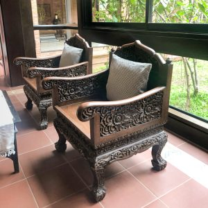 Personal Hotel Review Phor Liang Meun Terracotta Arts Hotel Chiang Mai Decor