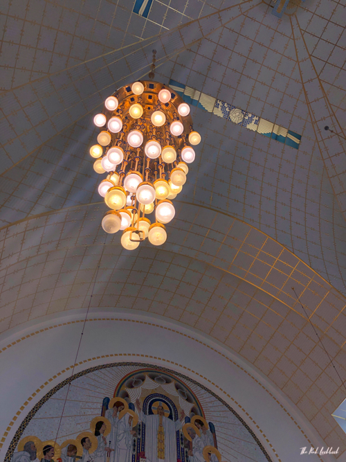 Vienna Off the Beaten Paths Fin de Siecle Art in Steinhof Church Altar Lamp