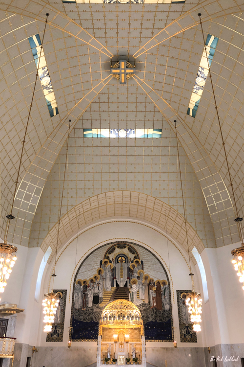 Vienna Off the Beaten Paths Fin de Siecle Art in Steinhof Church Altar