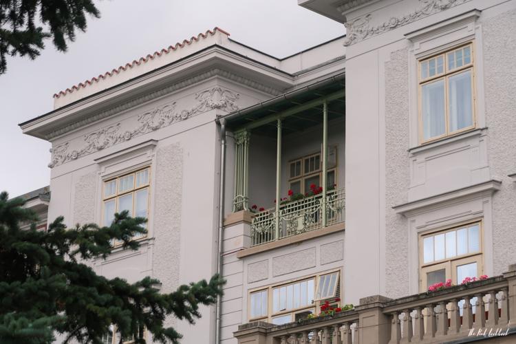 Vienna Off the Beaten Paths Fin de Siecle Art in Steinhof Balcony Details