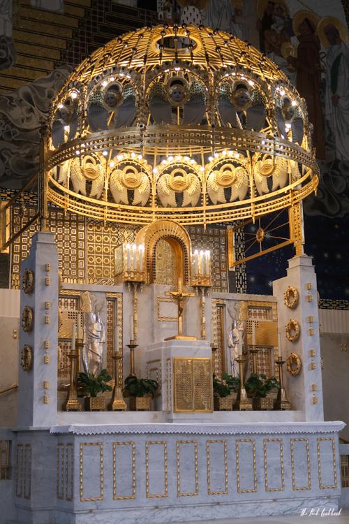 Vienna Off the Beaten Paths Fin de Siecle Art in Steinhof Church Altar Details
