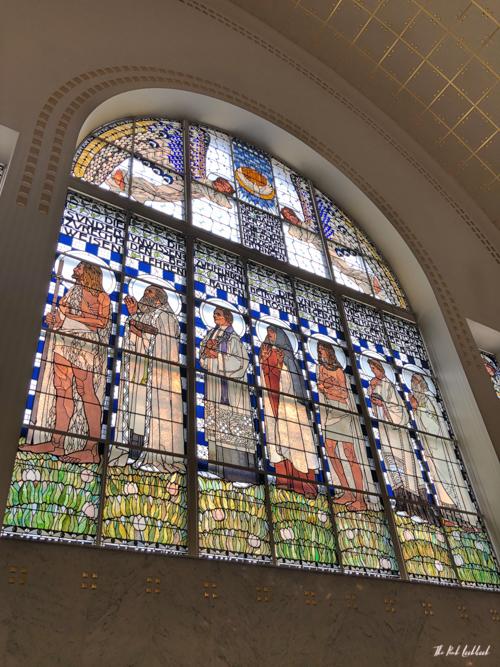 Vienna Off the Beaten Paths Fin de Siecle Art in Steinhof Church Window