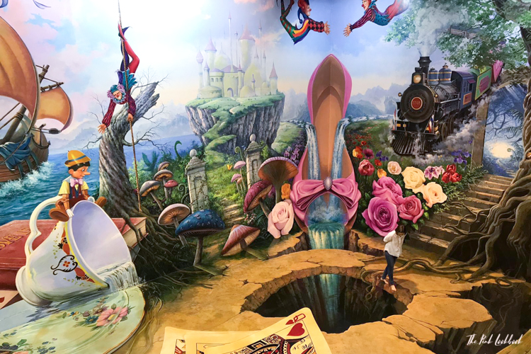 Things to Do in Bangkok - Interactive Illusions at the Art in Paradise Museum Fairy Tale