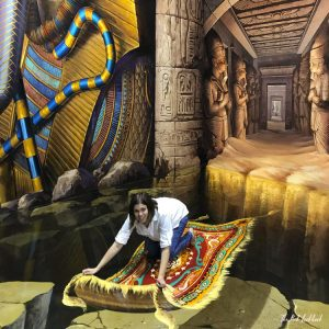 Things to Do in Bangkok - Interactive Illusions at the Art in Paradise Museum Magic Carpet