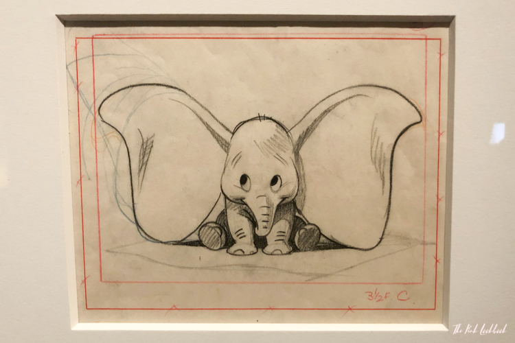 Disney Magic of Animation at ArtScience Museum Singapore Exhibition Review Dumbo Sketch