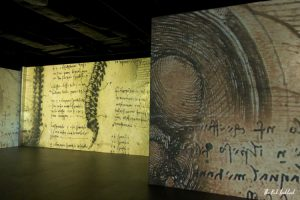 Italian Renaissance River City Bangkok Multimedia Exhibition da Vinci Room Perspective
