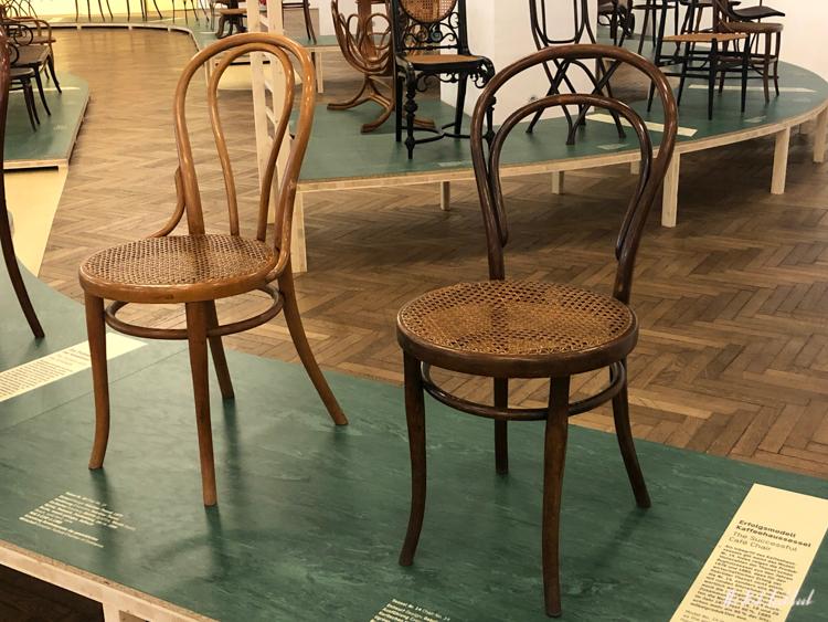 A Chair Affair Review of the Thonet Exhibition at MAK Vienna Chair No 14
