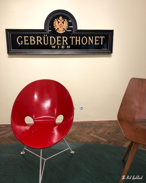 A Chair Affair Review of the Thonet Exhibition at MAK Vienna Company Sign