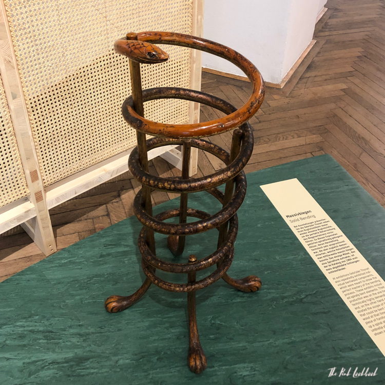 A Chair Affair Review of the Thonet Exhibition at MAK Vienna Snake Umbrella Stand