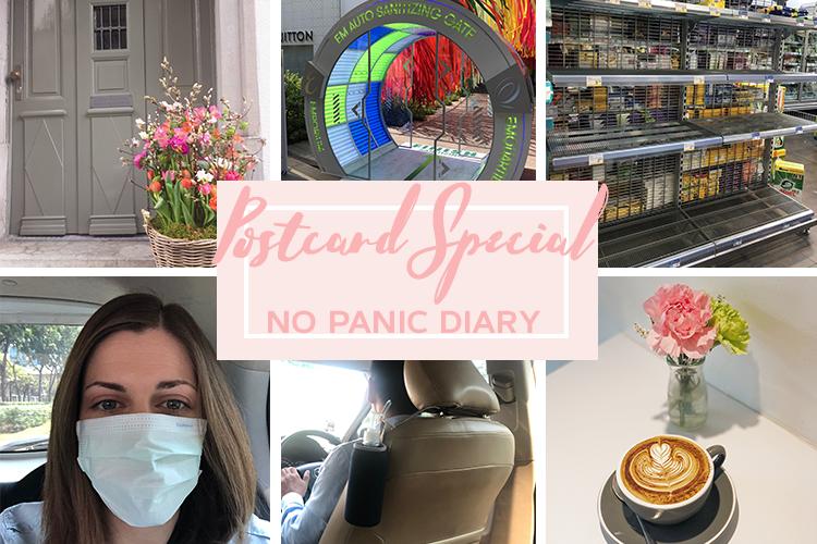 Postcard Special No Panic Diary Coronavirus